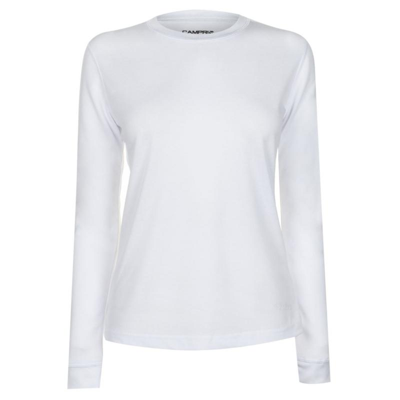 Campri Thermal Top Ladies White