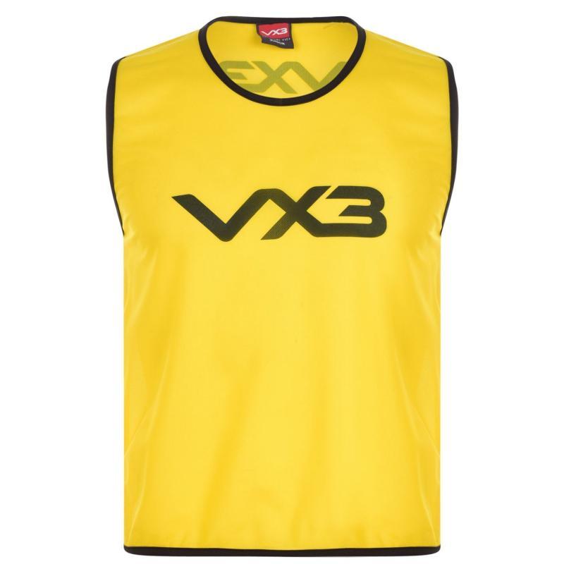 VX-3 Hi Viz Mesh Training Bibs Junior Flrscnt Yellow