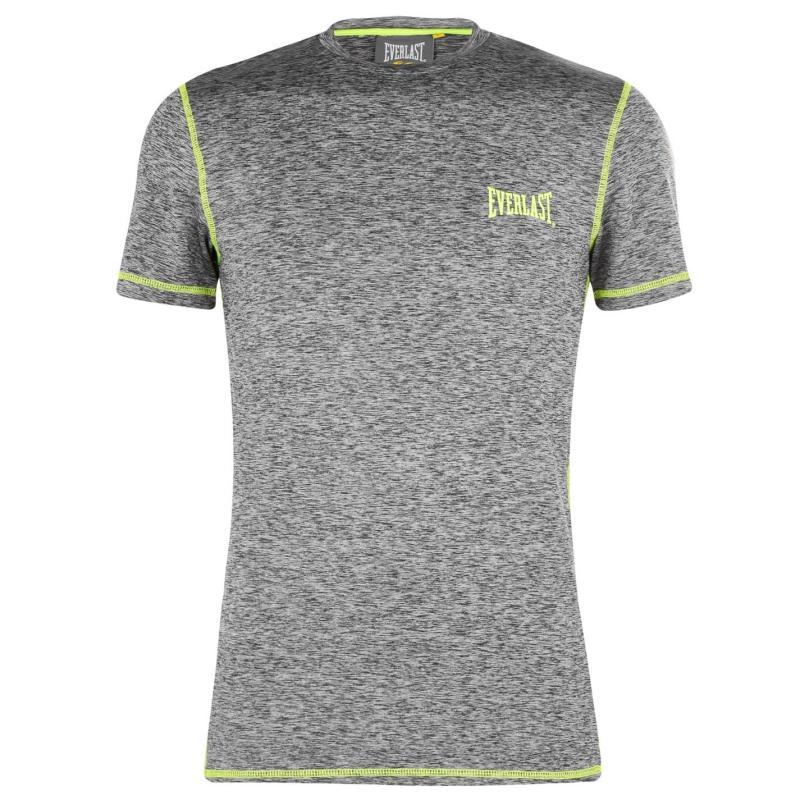 Everlast T Shirt Mens Grey Marl
