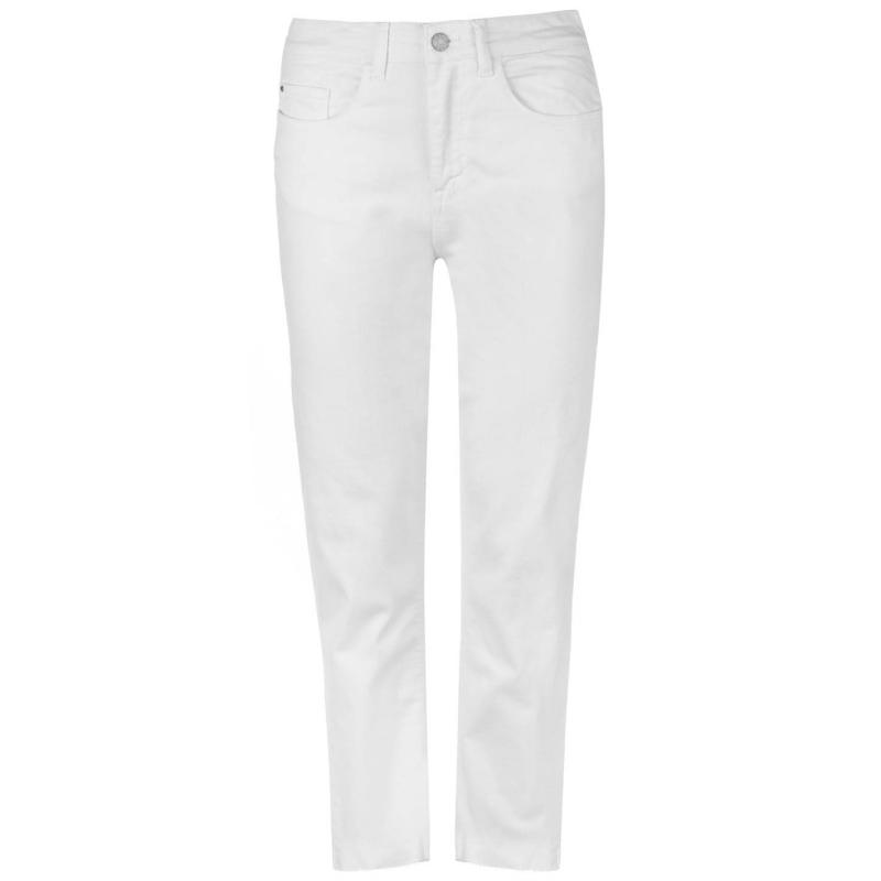 JDY Jacqueline Ankle Jeans Womens White