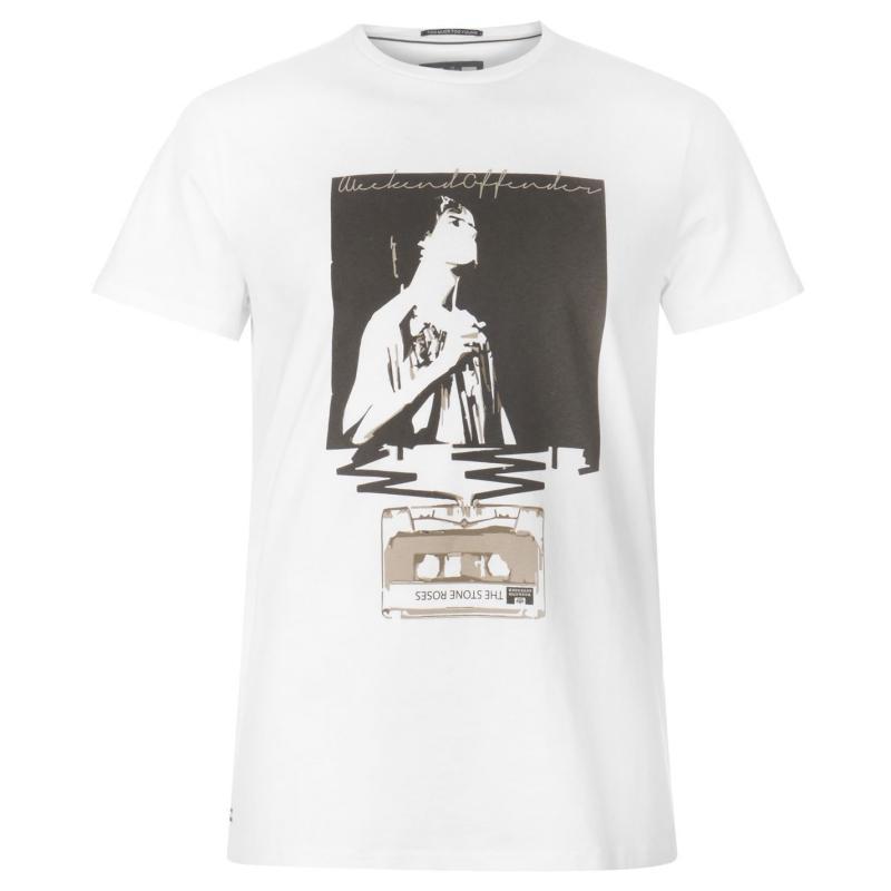 Tričko Weekend Offender Monkey T Shirt White