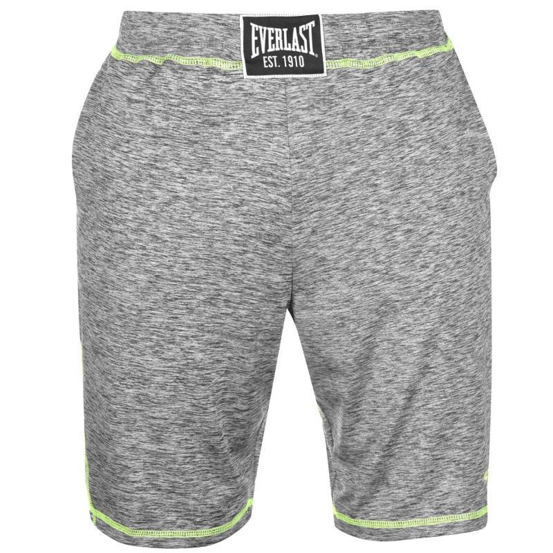 Everlast Fitness Shorts Mens Grey Marl