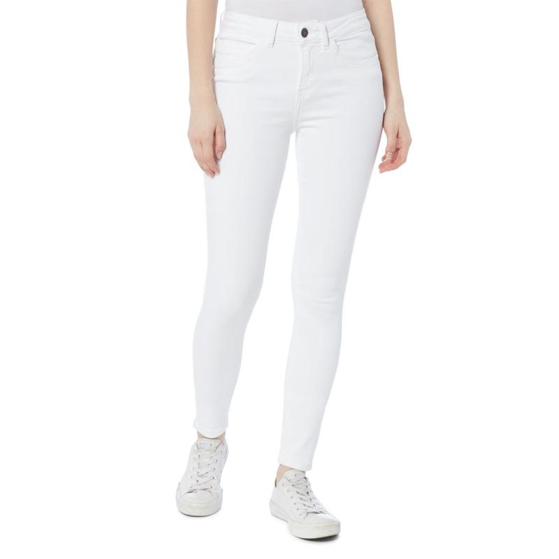 Noisy May Lucy Skinny Jeans Bright White