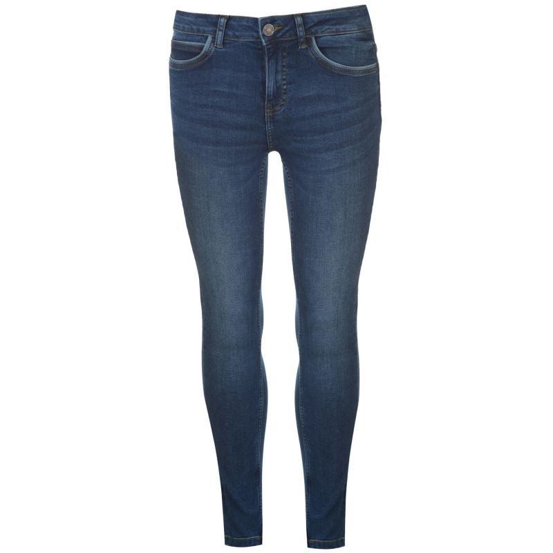 Noisy May Noisy Lucy Skinny Jeans Dark Blue