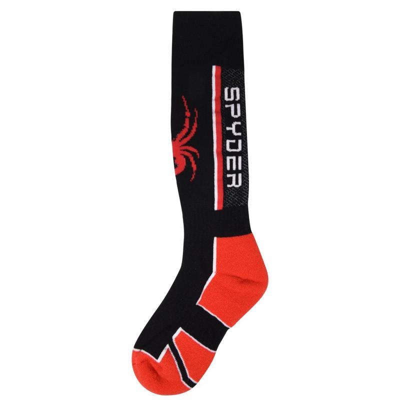 Spyder Sweep Ski Socks Juniors Black