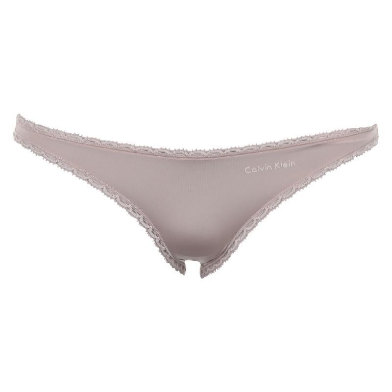 Plavky Calvin Klein Rud Bikini Bottoms Ladies Dreamer