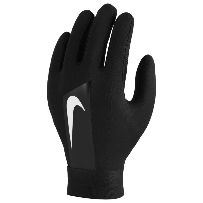 Nike HyperWarm Academy Kids' Football Gloves BLACK/BLACK/WHITE