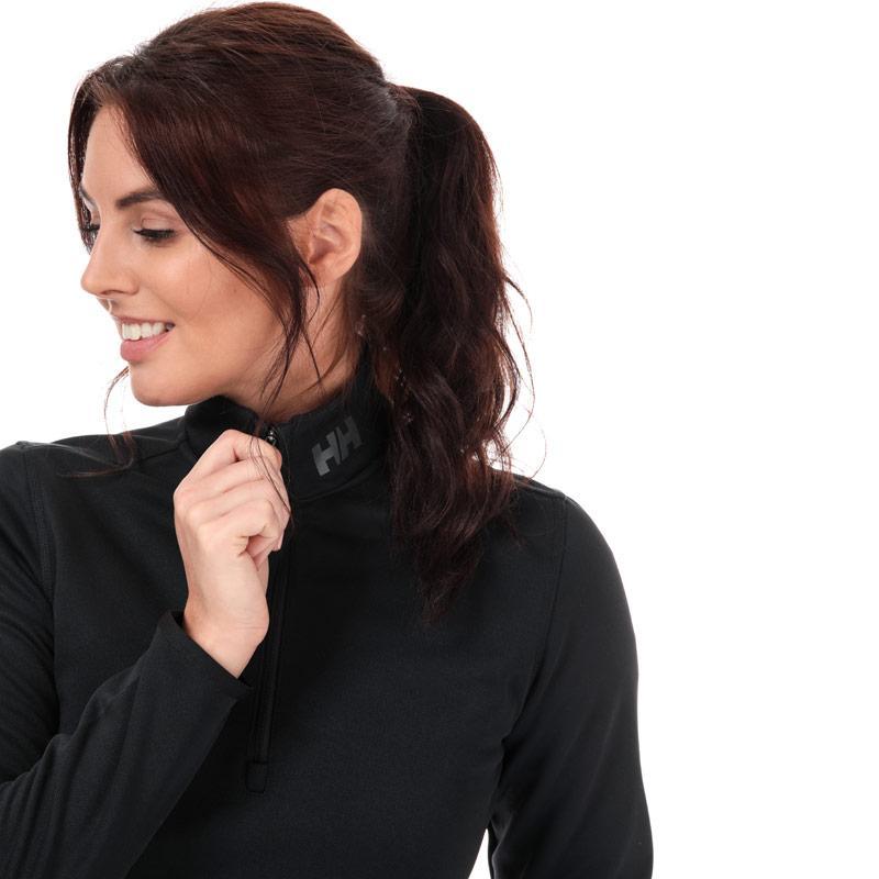 Helly Hansen Womens Rapid Half Zip Fleece Top Black