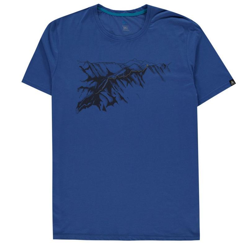 Odlo T Shirt Mens Nebulas Blue