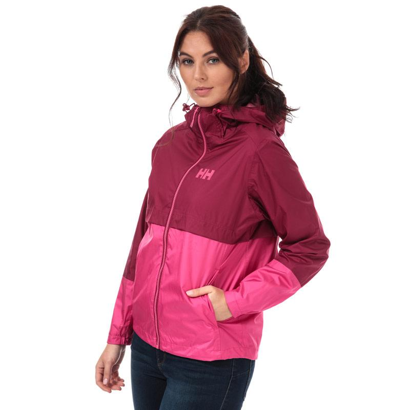 Helly Hansen Womens Aran Shell Jacket Plum