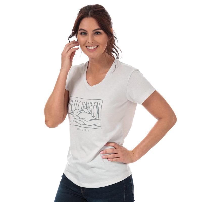 Helly Hansen Womens Une T-Shirt Light Grey
