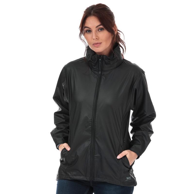Helly Hansen Womens Voss Rain Jacket Black