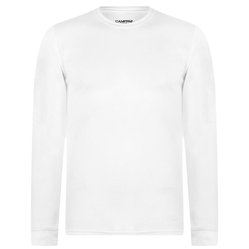 Campri Thermal Baselayer Top Mens White
