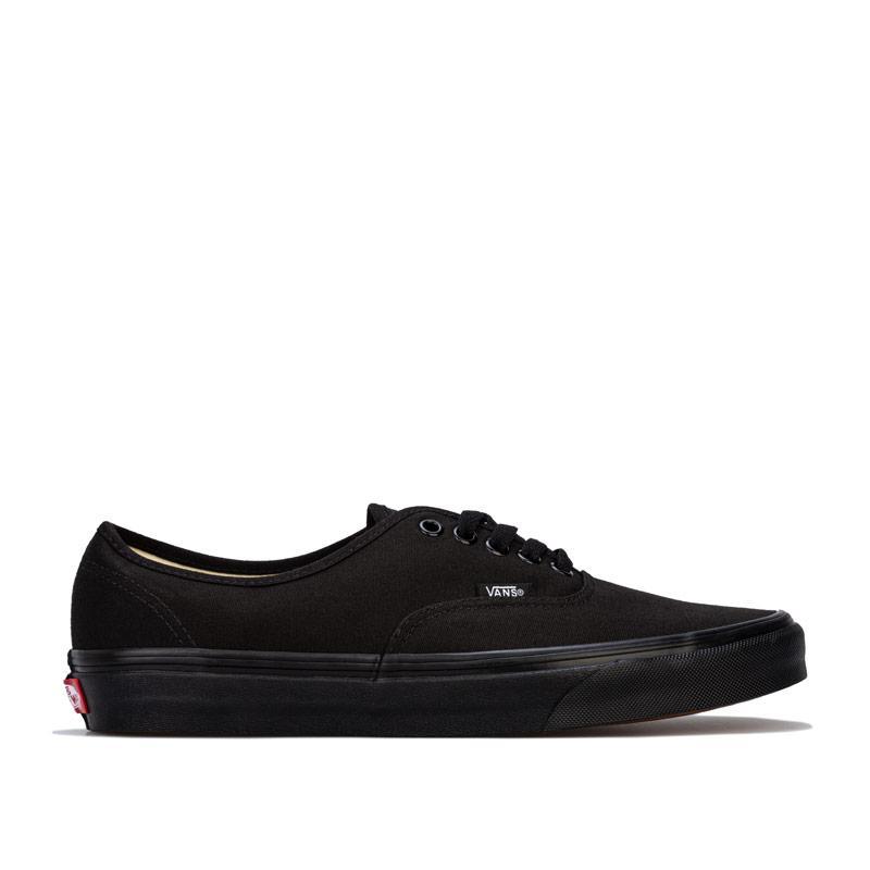 Vans Mens Authentic Skate Shoes Black