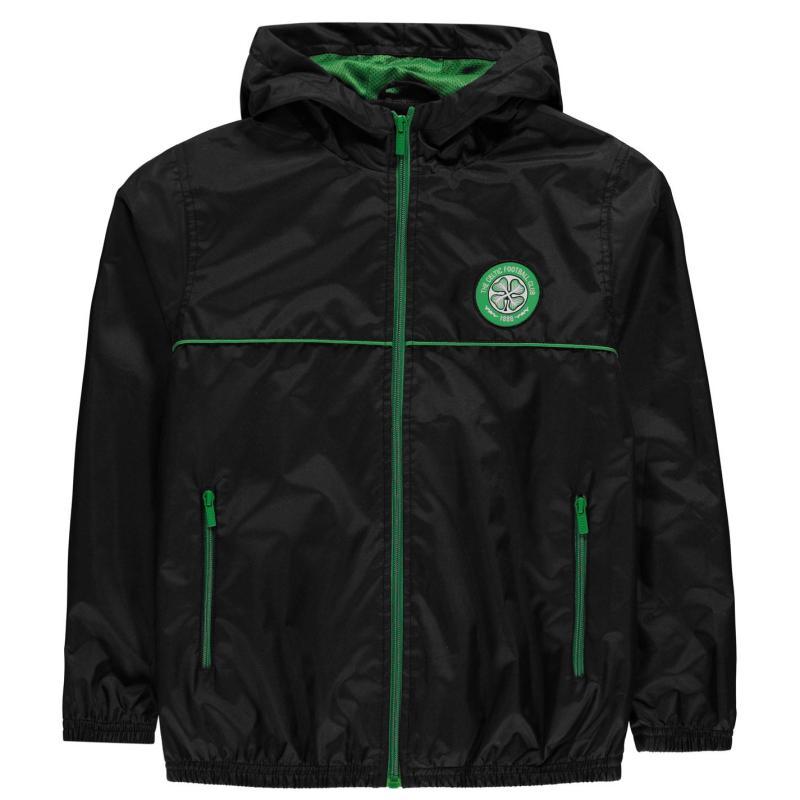 Source Lab FC Rain Jacket Black/Green
