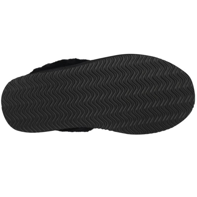 Firetrap Mule Slippers Ladies Black