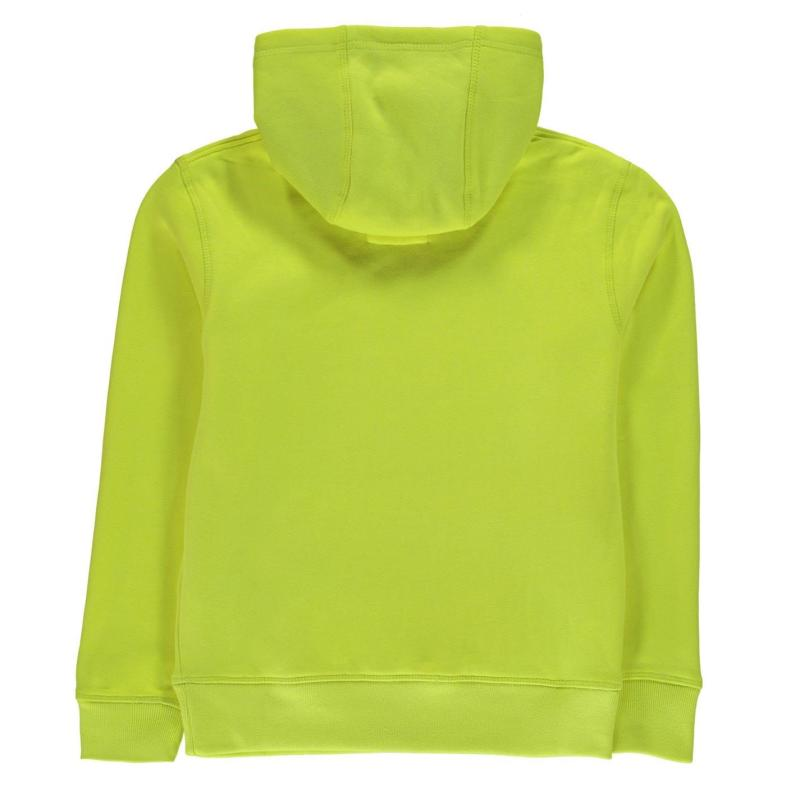 Mikina Wilson Script Hoodie Junior Boys Yellow