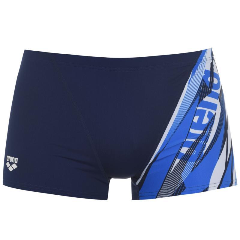 Plavky Arena Zephiro Swim Shorts Mens Navy/Blue