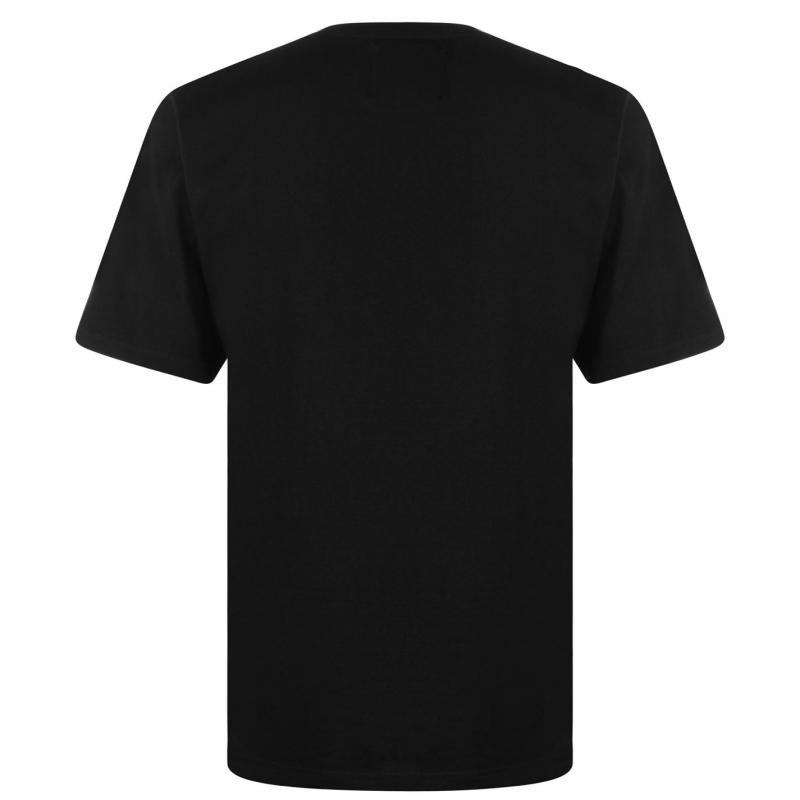 Tričko Star Christmas November T Shirt Men's Black