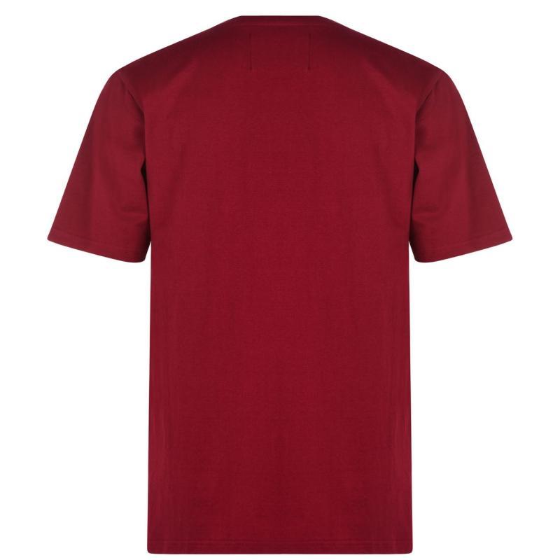 Tričko Star Christmas November T Shirt Men's Red Beer