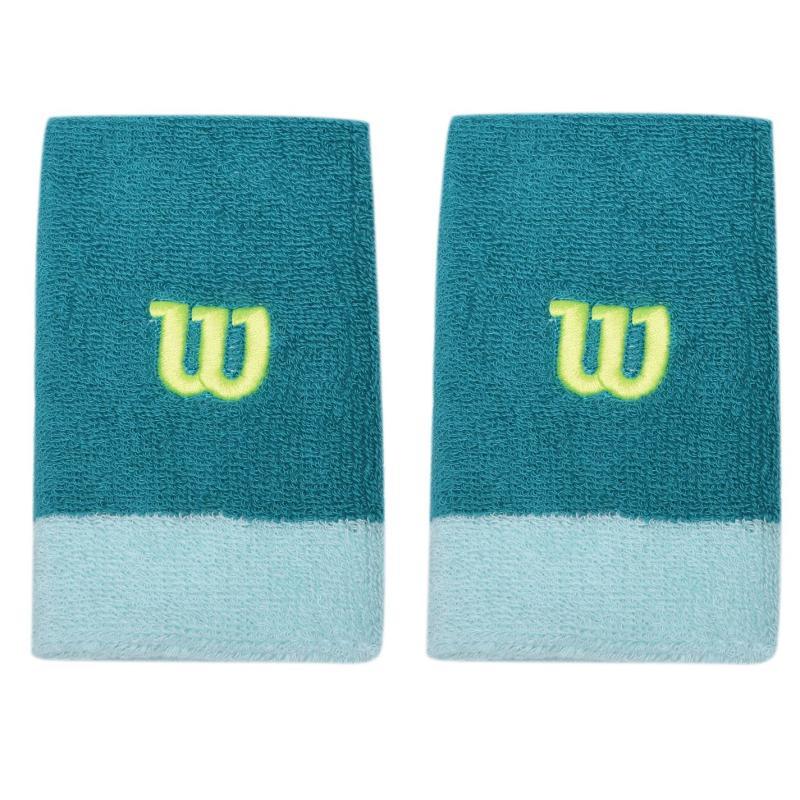 Wilson Wide Wristband Womens Green