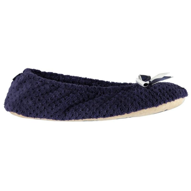 Isotoner Pillowstep popcorn ballet slippers