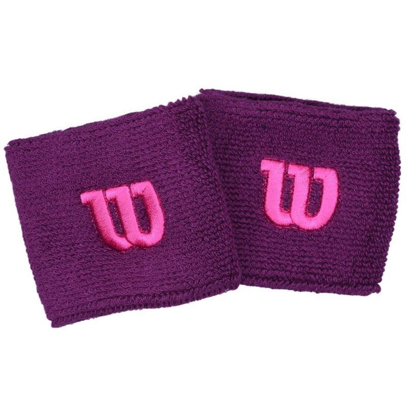 Wilson Wristbands Ladies Purple