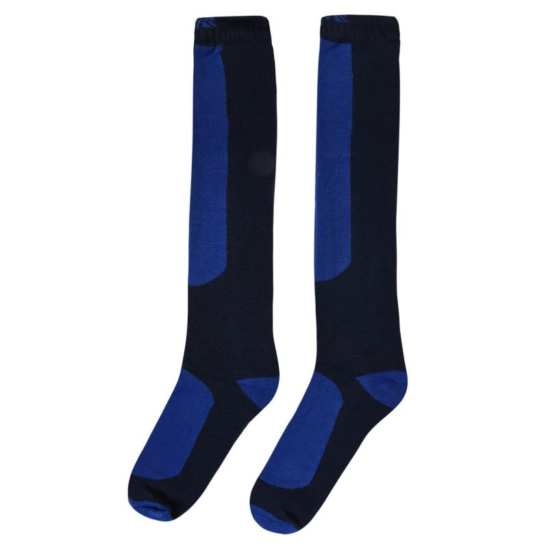 Campri Snow Sock 2 Pack Mens Navy/Royal