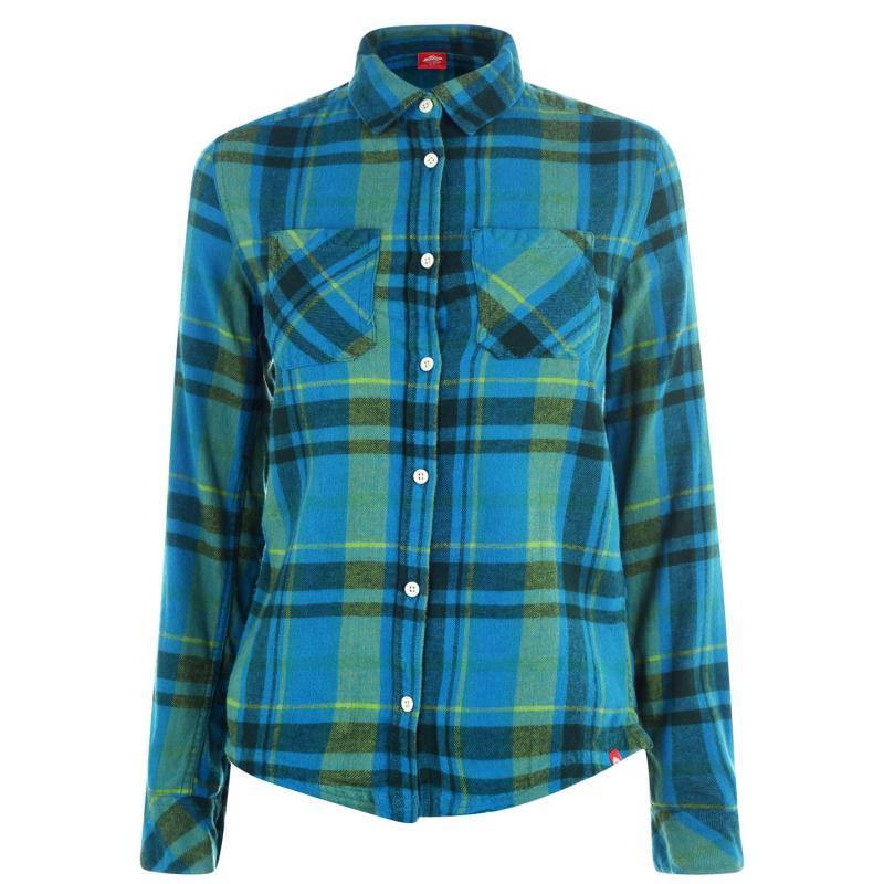 Košile Eastern Mountain Sports Flannel Shirt Oceans Depth