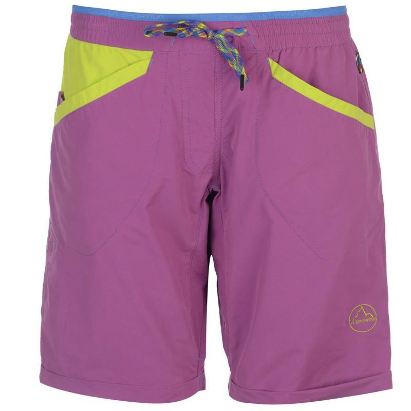 La Sportiva Nirva Shorts Ladies Purple Green