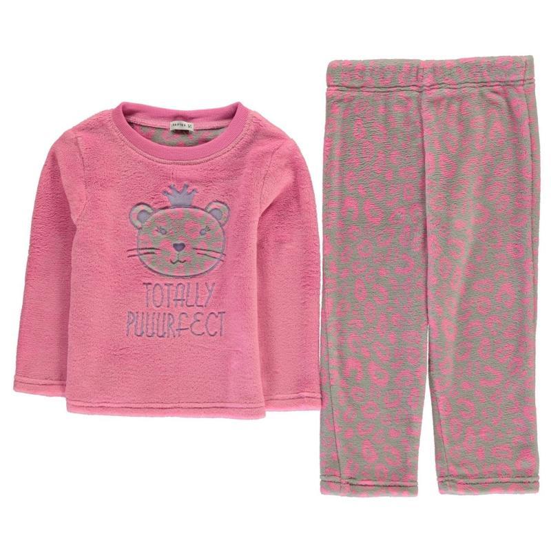Crafted Cuddle Fleece Pyjama Set Puurfect