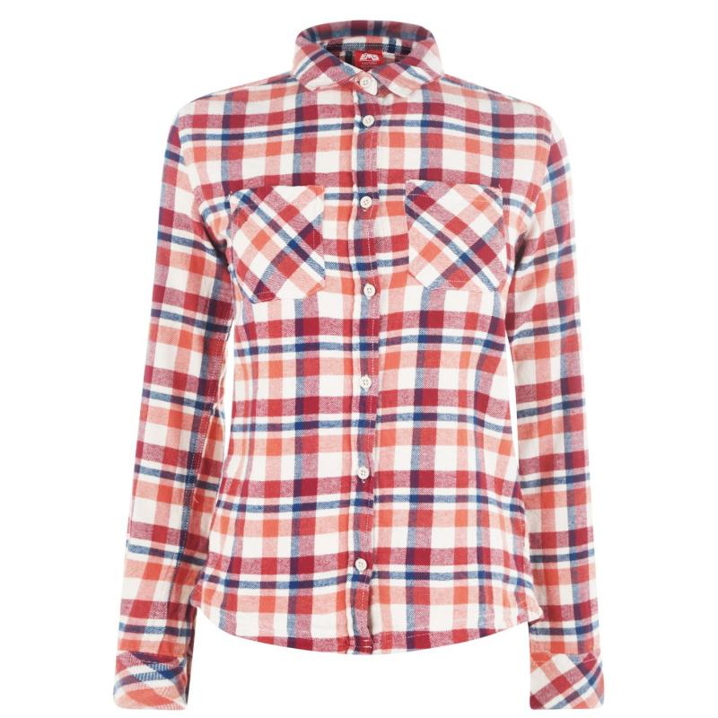 Košile Eastern Mountain Sports Flannel Shirt Apricot Brandy