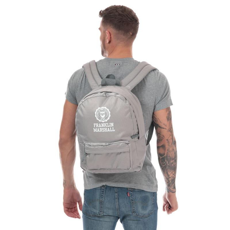 Franklin And Marshall Franklin Backpack Grey