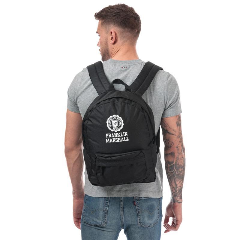 Franklin And Marshall Franklin Backpack Black
