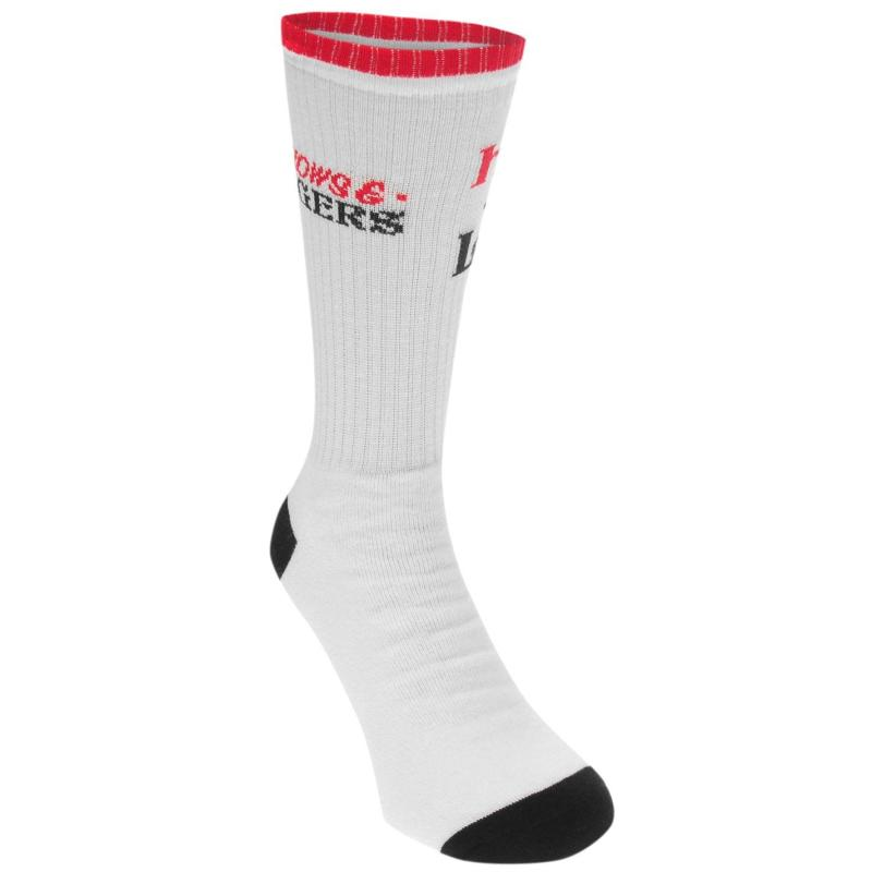 Ponožky Swallows and Daggers Less Hate More Love Socks White