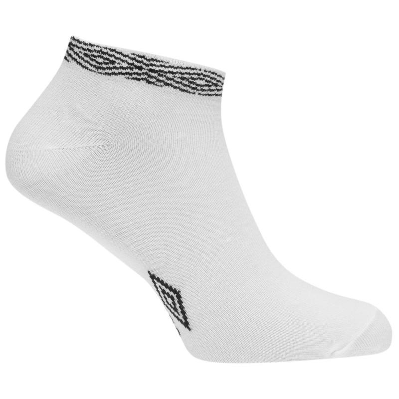 Ponožky Umbro 3 Pack Project Trainer Socks Black/White