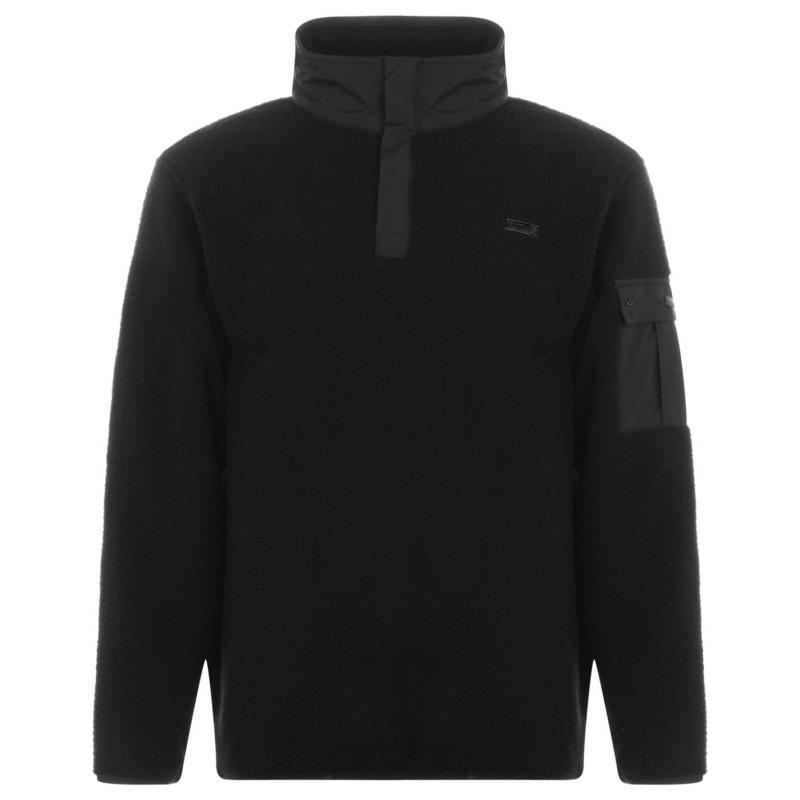 Mikina Regatta Cormac Fleece Zip Top 826 Black