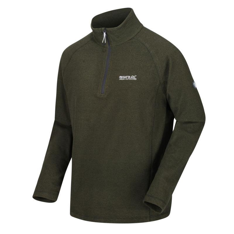 Regatta Montes Quarter Zip Fleece 82F Grey