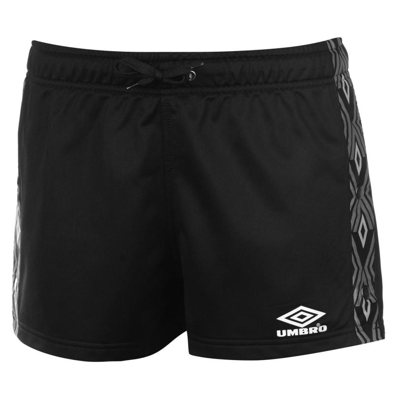 Umbro Elite Pop Shorts Black