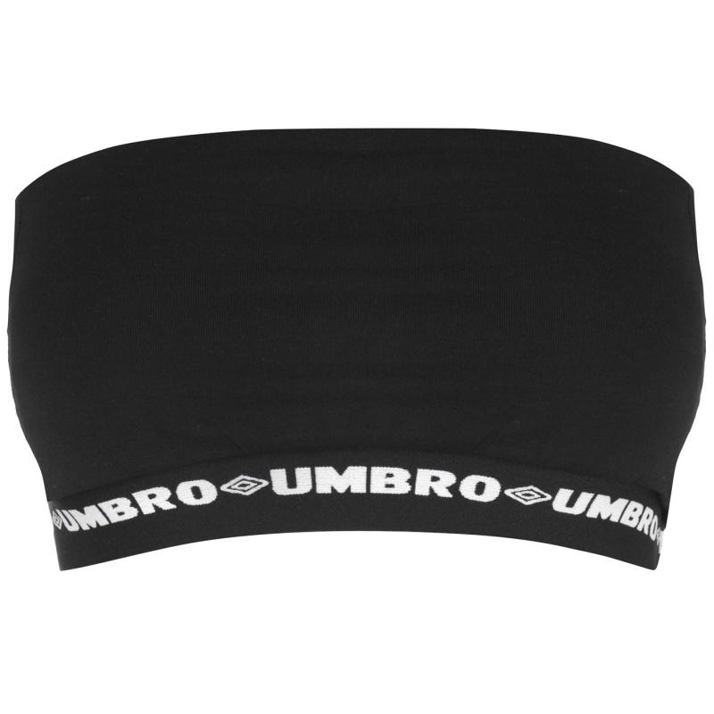 Umbro Womens Profit Boob Tube Black