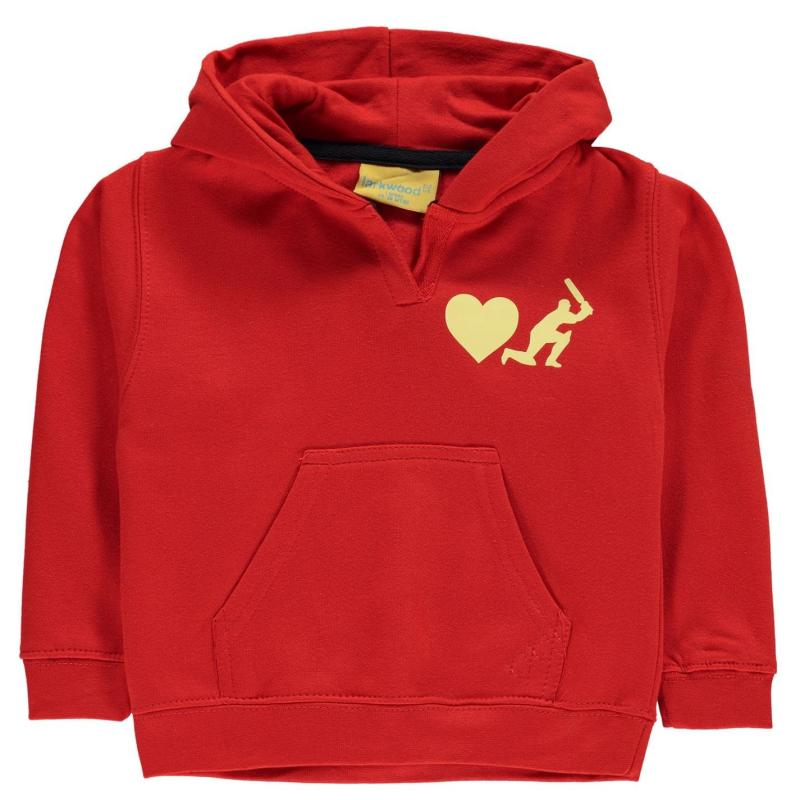 Sports Graphics Graphics Baby Performance Hoodie Red