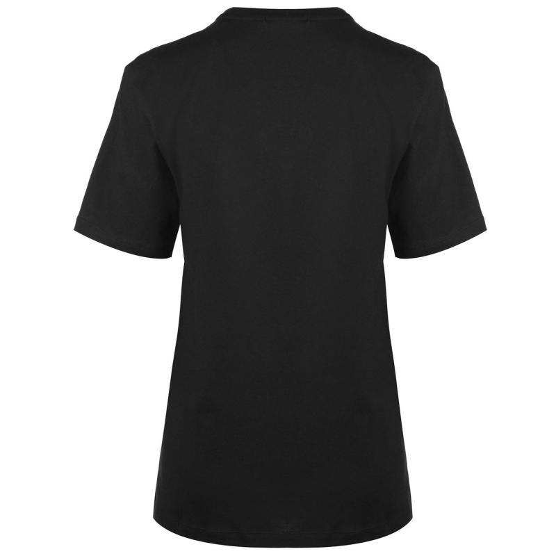 Umbro Logo Boyfriend T Shirt White/Blush