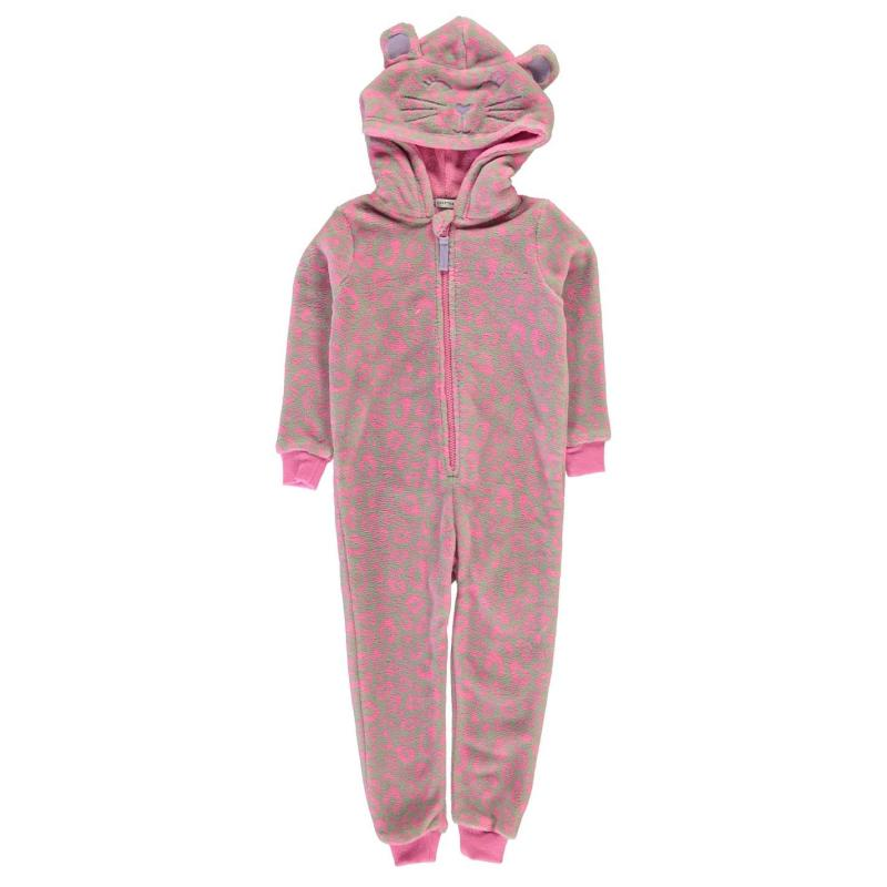 Crafted Novelty Onesie Infant Girls Leo Cat