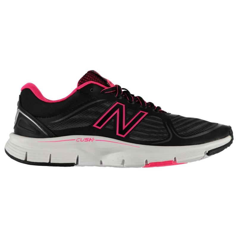 New Balance RSM v1 Ladies Running Shoes Black/Pink