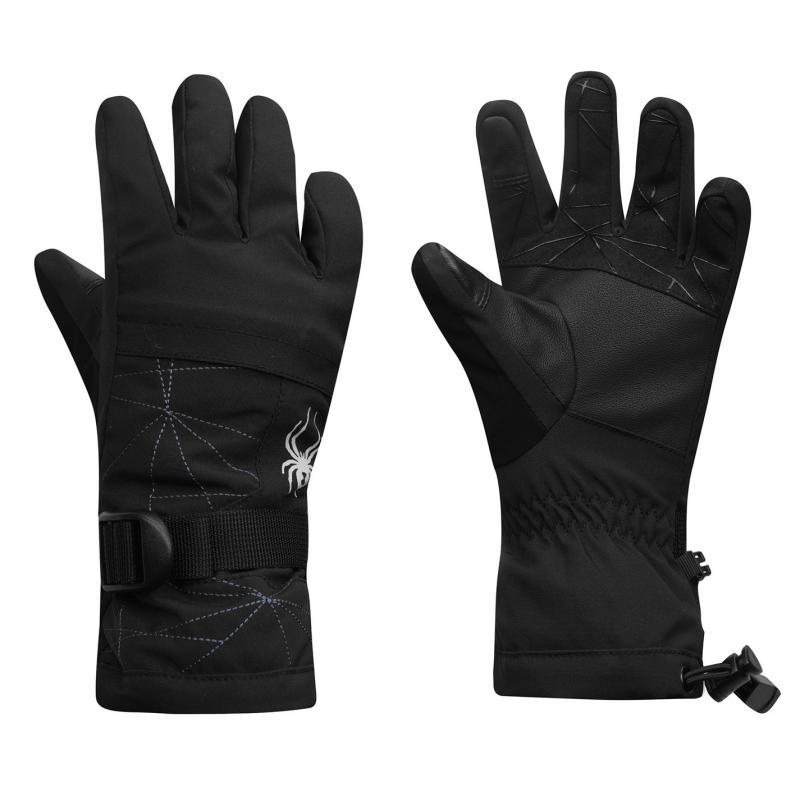Spyder Overweb Gloves Juniors Black