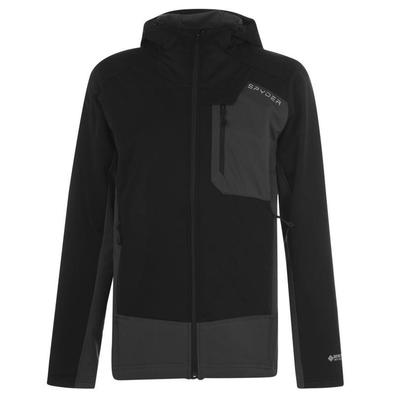 Spyder Ascender Jacket Mens Black