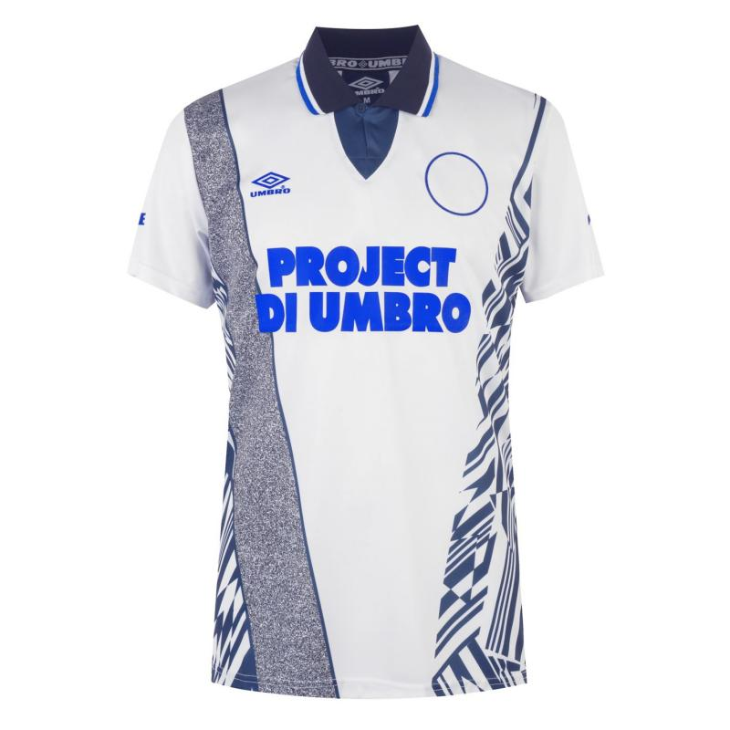 Tričko Umbro Azteca Jersey White/Blue/Surf