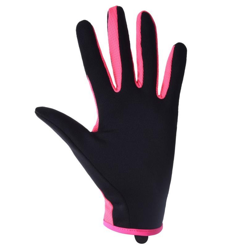 Nike Run Hat and Gloves Set Womens Black/Pink