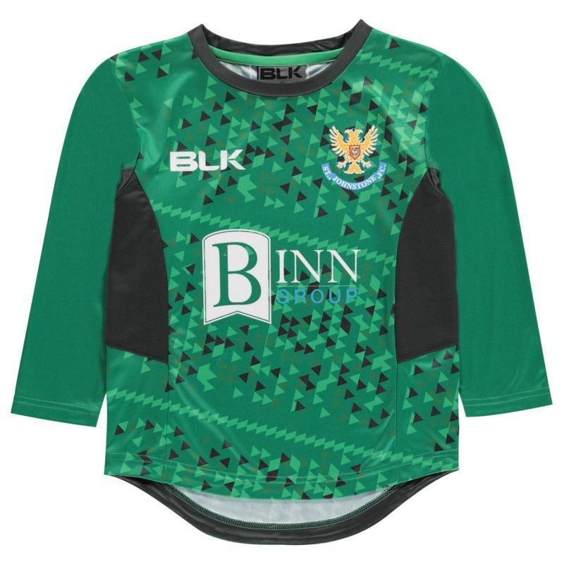 Tričko BLK St. Johnston FC Jersey Top Boys Green