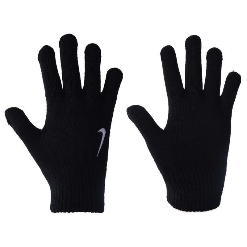 Nike Knitted Gloves Junior Boys Black/White
